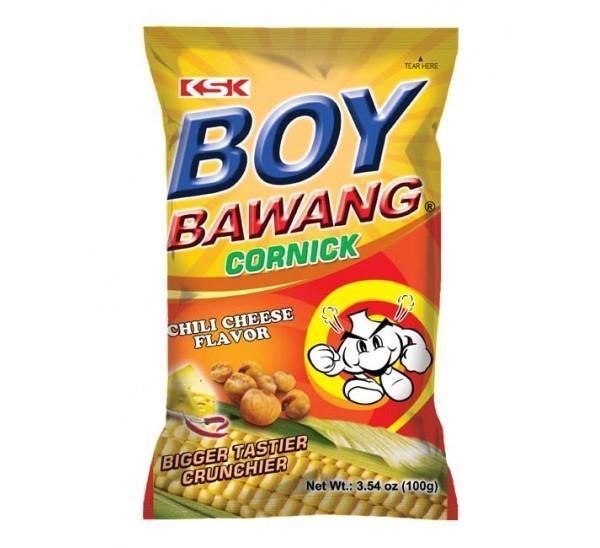 Boy Bawang Cornicks Chilli-Cheese (100g)