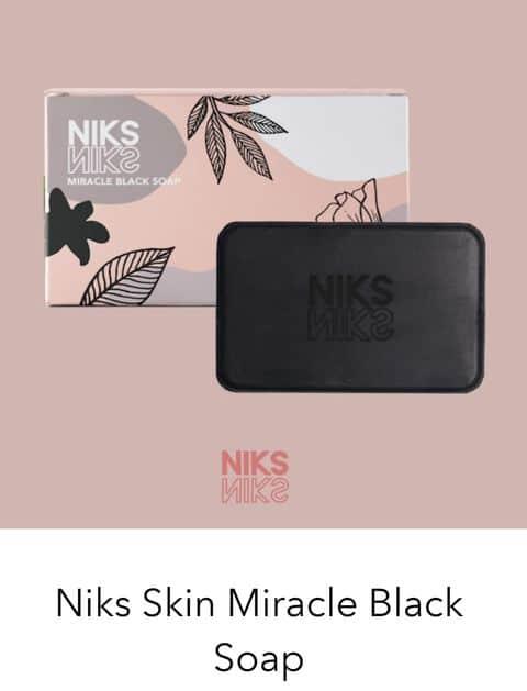 Niks Skin Miracle Black Soap