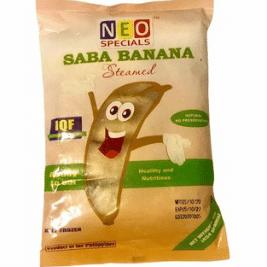 Neo Steamed Banana (Saba) (500g)