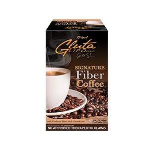 Gluta Lipo Signature Fiber Coffee