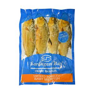 Sarangani Bay Smoked Boneless Baby Milkfish (Tinapang Bangus) (4pcs) (360g)