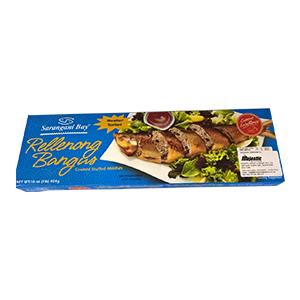 Sarangani Bay Cooked Stuffed Milkfish (Rellenong Bangus) (454g)