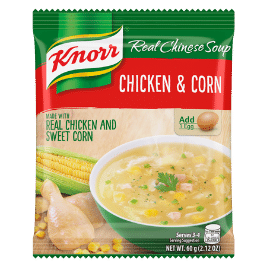 Knorr Chicken and Corn Soup Mix (60g)