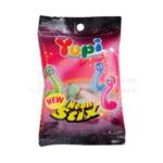 Yupi Glow Worms (Neon Stix) Gummy Candies (120g)