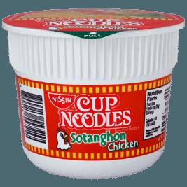 Nissin Cup Noodles Mini Sotanghon (30g)
