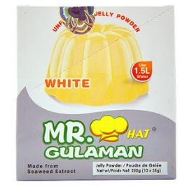 Mr Gulaman White (Unflavored Jelly Powder) (25g)