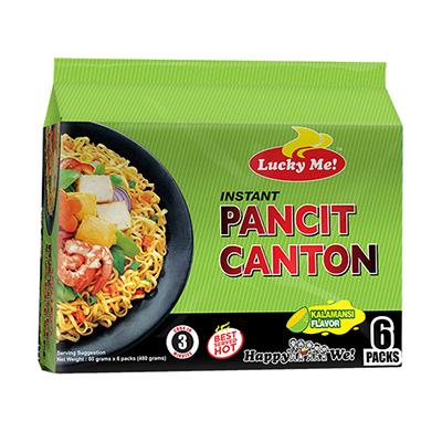 Lucky Me Pancit Canton Calamansi (6pack) (480g)