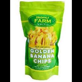 Tropics Farm Golden Banana Chips (350g)